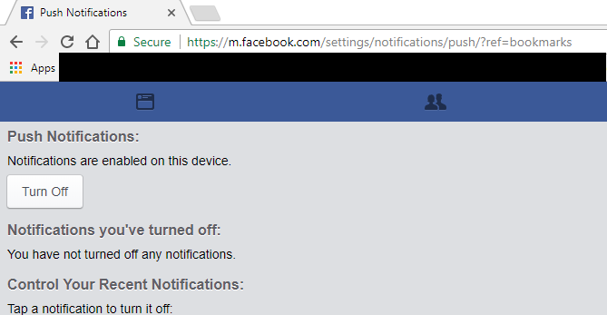 google chrome how to turn off push notifications on macbook